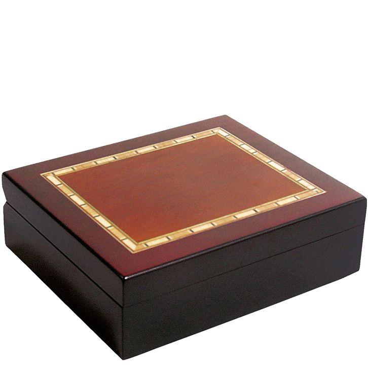 Портмоне Samsonite кожаное черное горизонтальное в подарочной коробке