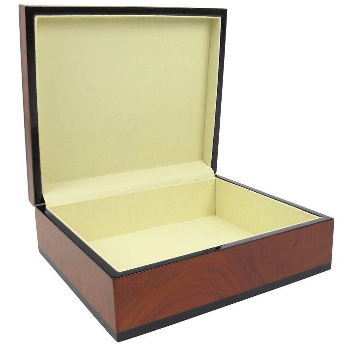 Портмоне Samsonite кожаное черное с каманом на молнии в подарочной коробке