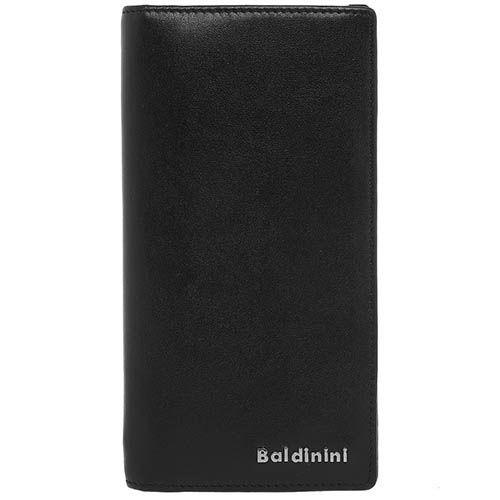 Портмоне черного цвета Baldinini на кнопке