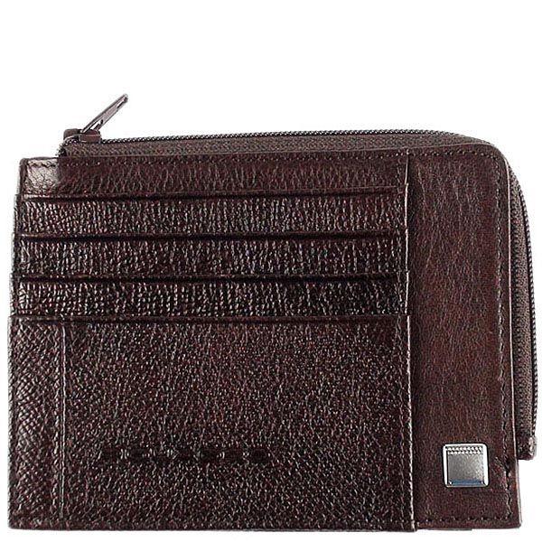 Холдер Piquadro Forest коричневого цвета для банкнот и кредитных карт
