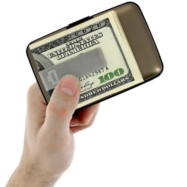 Визитница с зажимом для денег Ogon Designs Stockholm money clip
