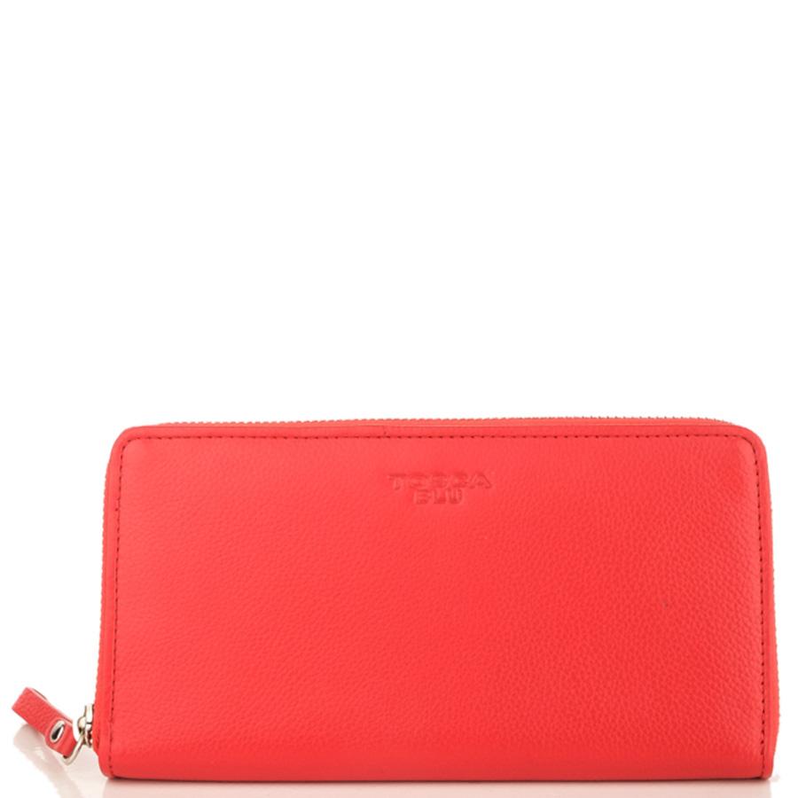 Кошелек красного цвета Tosca Blu Dali на молнии