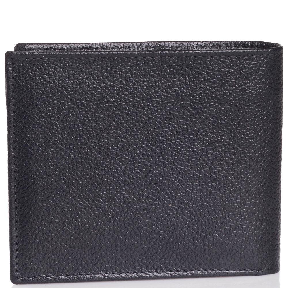 Черное портмоне Trussardi Jeans из зернистой кожи