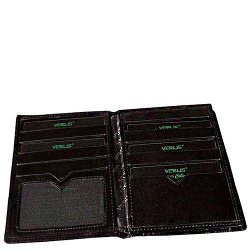 Тонкое вместительное портмоне Verus Tokio с множеством отделений и карманов