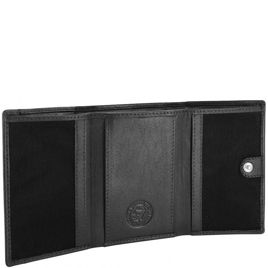 Вертикальное мини-портмоне Wenger 2-19 мужское черного цвета