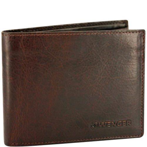 Портмоне Wenger W7-04 мужское коричневого цвета