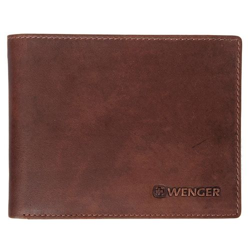 Портмоне Wenger Montreux Bifold Travel коричневое