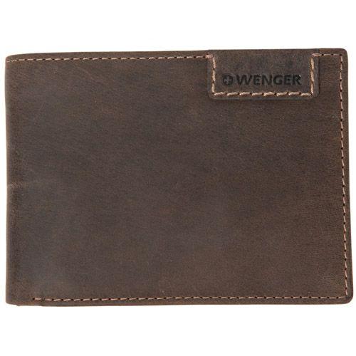 Портмоне Wenger Cosmo Bifold Traveler коричневое