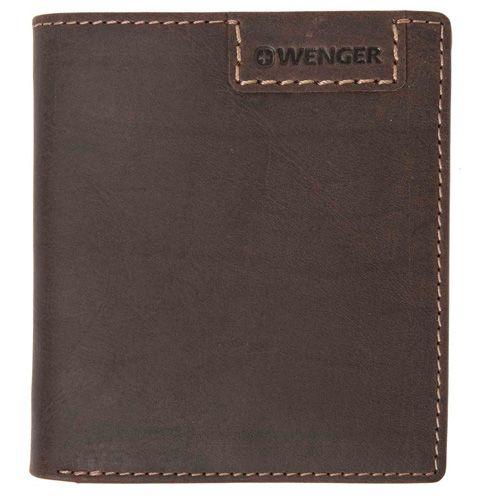 Портмоне Wenger Cosmo Short Traveler коричневое