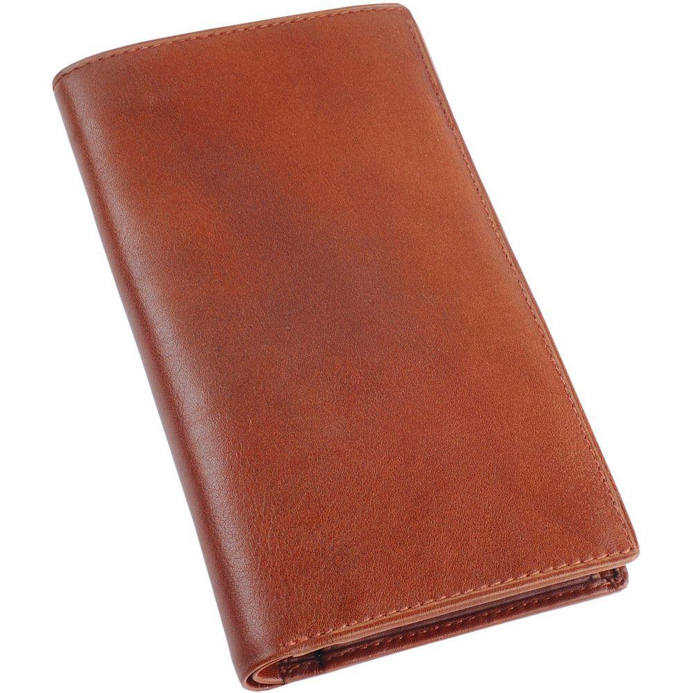 Портмоне William Lloyd вертикальное коричневое с монетницей и слотами для карт