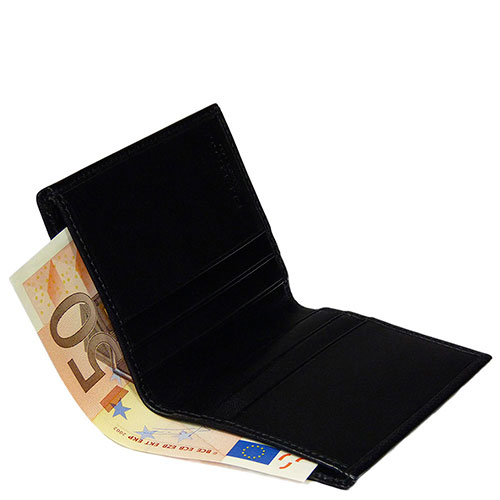 Вертикальный футляр для кредитных карт The Bridge Story Uomo черный, фото