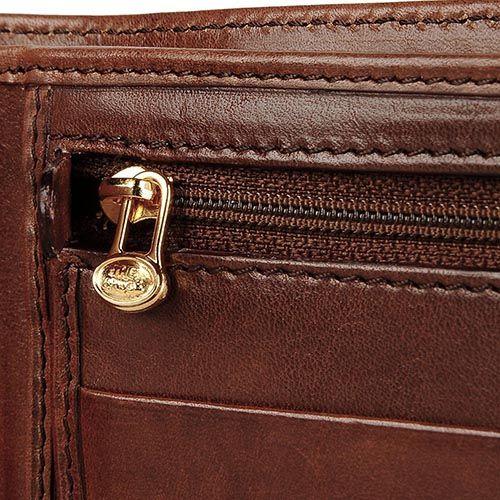Большое мужское портмоне The Bridge Story Uomo коричневого цвета, фото