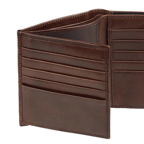 Мужское портмоне The Bridge Story Uomo коричневого цвета, фото