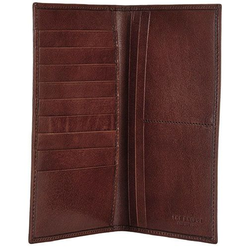Мужской бумажник The Bridge Story Uomo коричневого цвета, фото