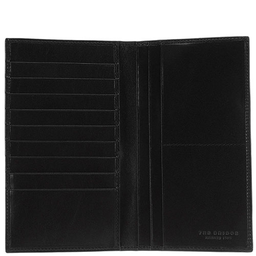 Бумажник The Bridge Story Uomo черного цвета, фото