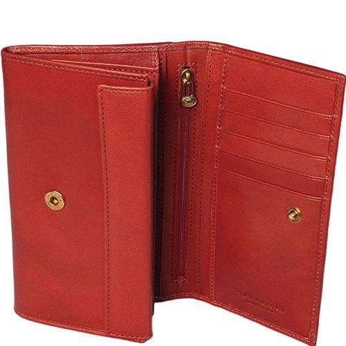 Женское портмоне The Bridge Story Donna красного цвета, фото