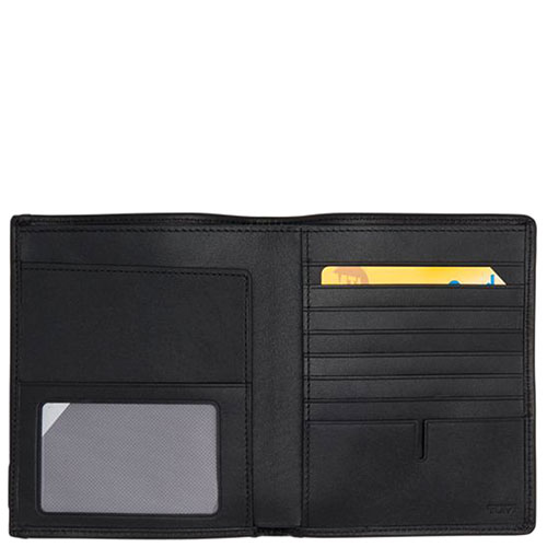 Серое портмоне Tumi Alpha с отделением для документов, фото