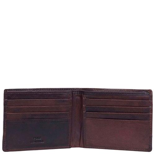 Мужское портмоне Spikes&Sparrow темно-коричневого цвета, фото