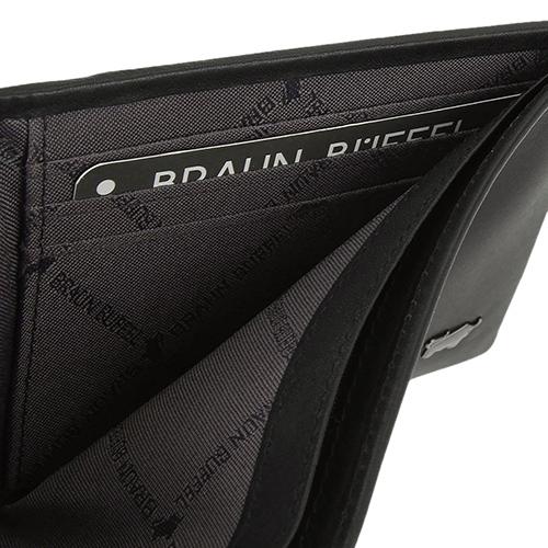 Черное портмоне Braun Bueffel Luzern прямоугольной формы, фото