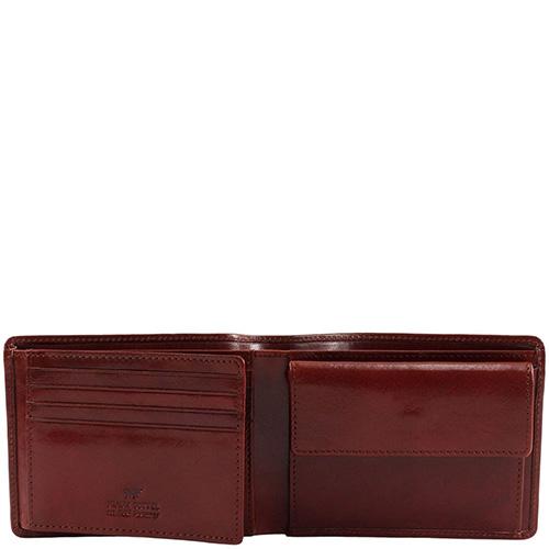 Портмоне Braun Bueffel Cambridge коричневого цвета, фото