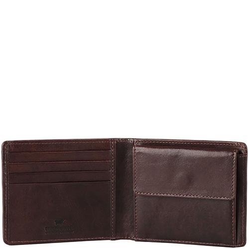Коричневое портмоне Braun Bueffel Venice man с монетницей, фото