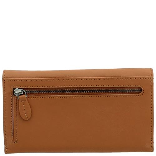 Горизонтальное портмоне Braun Bueffel Soave светло-коричневого цвета, фото
