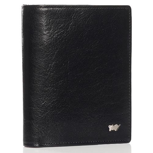 Черное портмоне Braun Bueffel Basic Gaucho с карманом для монет, фото