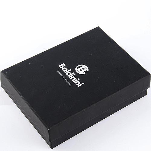Портмоне Baldinini черного цвета из мелкозернистой кожи, фото