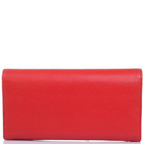 Портмоне Baldinini Adanna красного цвета из мелкозернистой кожи, фото