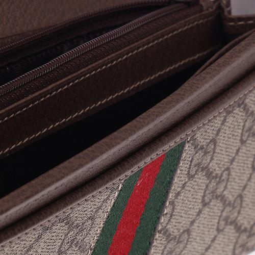 Кошелек Gucci Ophidia GG со съемной цепочкой, фото