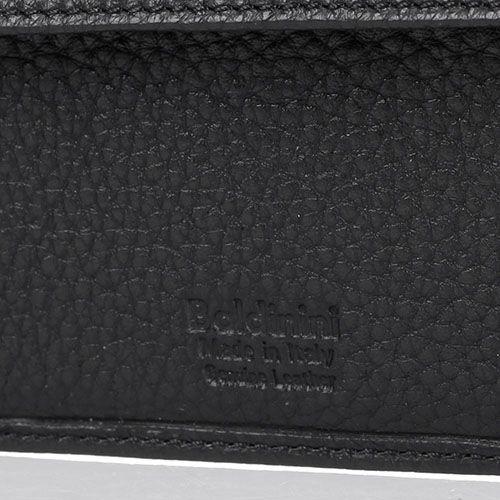 Мужское портмоне Baldinini Igor из крупнозернистой кожи черного цвета, фото