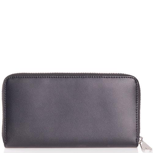 Черный кошелек Armani Jeans на молнии, фото