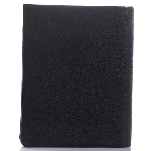 Вертикальное портмоне Amo Accessori Verona в черном цвете, фото