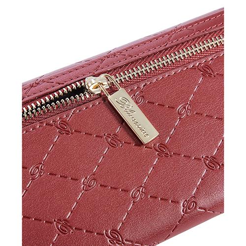 Складной кошелек Blumarine B Obsession с брендовым тиснением, фото
