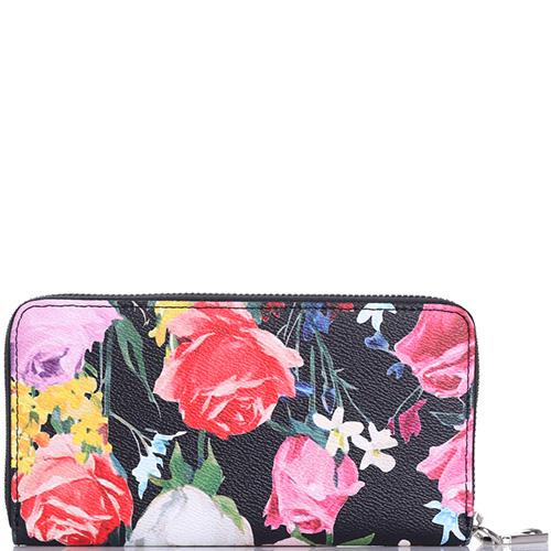 Кошелек Blumarine Rose с цветочным принтом, фото