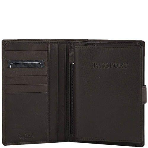 Большое вместительное портмоне Tony Perotti Contatto с множеством отделов и съемной обложкой на паспорт, фото
