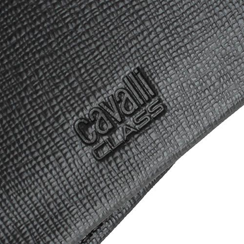 Портмоне Cavalli Class Astoria мужское темно-коричневого цвета внутри с монетницей, фото