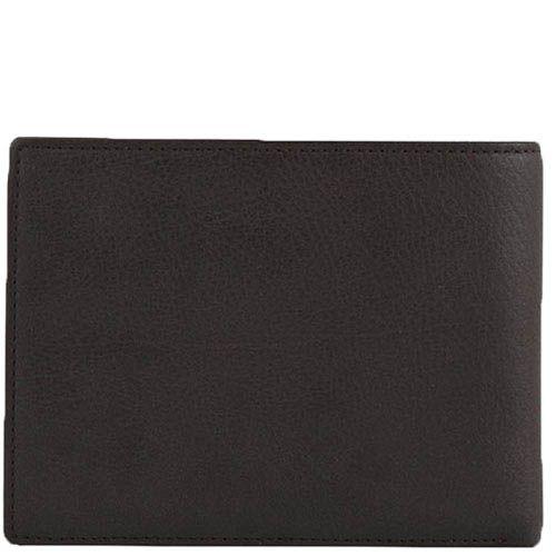 Горизонтальное портмоне Tony Perotti Contatto из натуральной коричневой кожи, фото