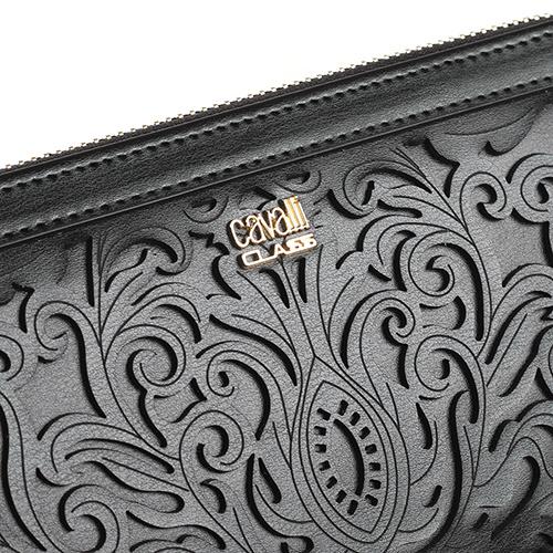 Женское портмоне Cavalli Class Venus с декоративным узором, фото