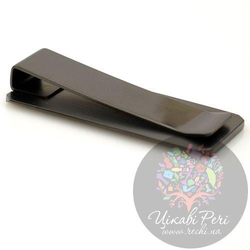 Черный зажим для банкнот Modena, фото