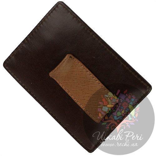 Кредитница-зажим для банкнот Cross 1846 коричневая, фото