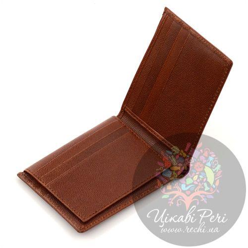 Портмоне Dalvey горизонтальное коричненого цвета, фото