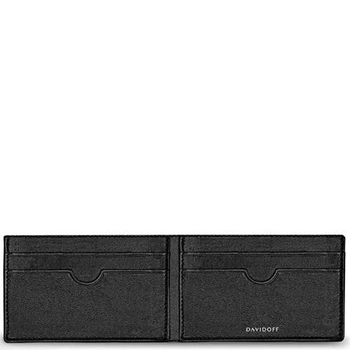 Картхолдер Davidoff Essentials черного цвета, фото