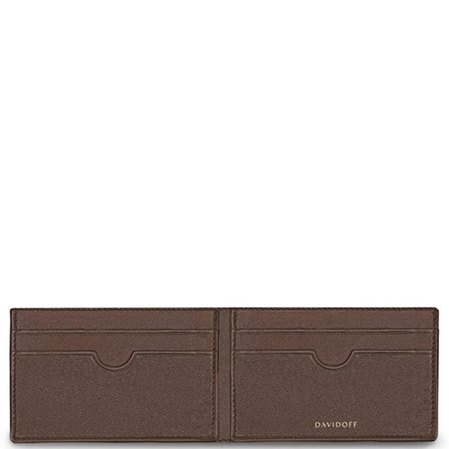 Картхолдер Davidoff Essentials коричневого цвета, фото