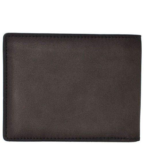 Серое портмоне Giudi Leather из натуральной гладкой кожи, фото