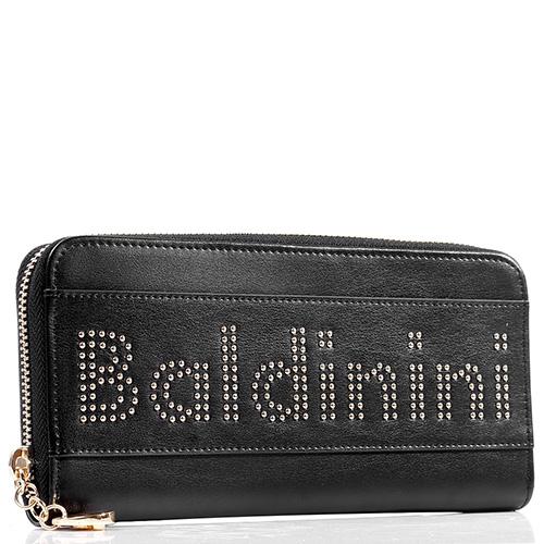 Женский кошелек Baldinini Clara черного цвета на молнии, фото