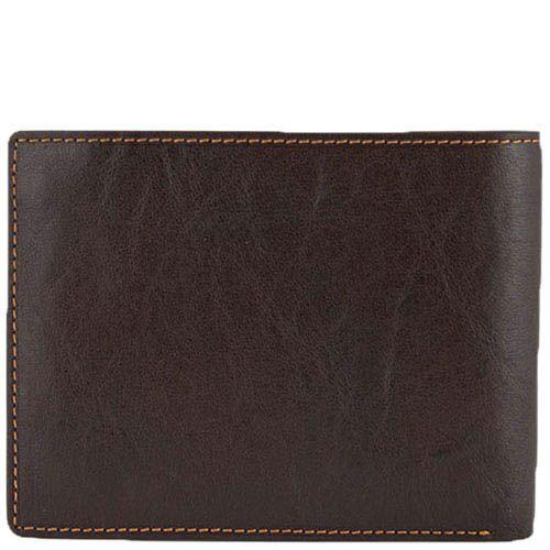 Коричневое вместительное портмоне Tony Perotti Italico из натуральной кожи для мужчин, фото