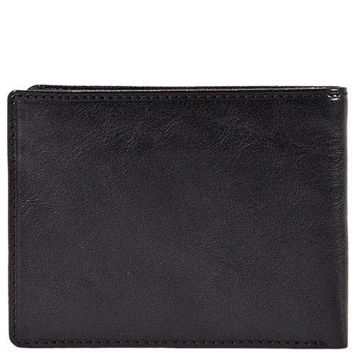 Черный портмоне Tony Perotti Italico из гладкой кожи в фирменной упаковке, фото