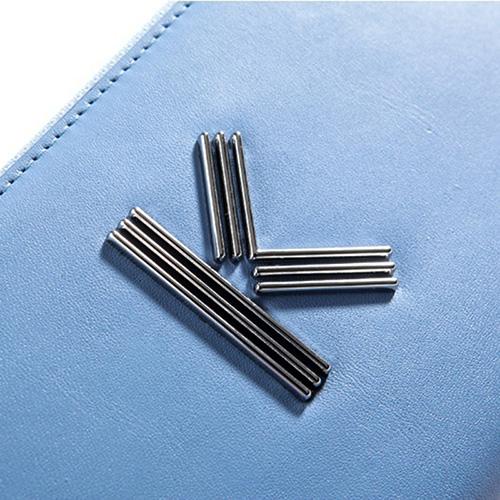 Голубой кошелек Kenzo K-Bag с металлическим логотипом, фото