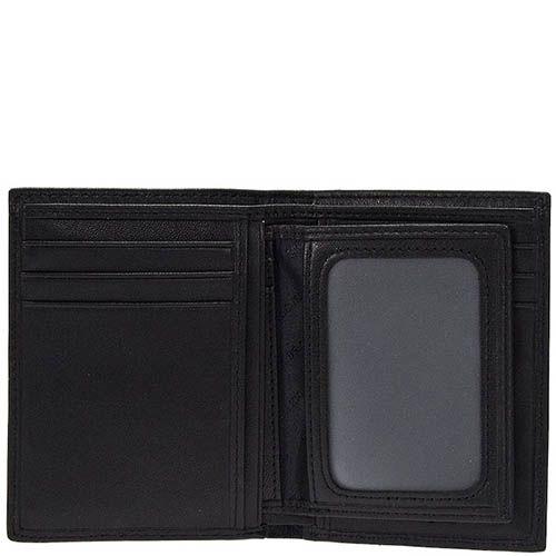 Вертикальное кожаное портмоне Miguel Bellido Classic со съемной кредитницей, фото